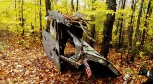 The Maine Forest Trail That Holds A Long Forgotten Secret Of Aviation