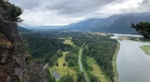 Hike Up A Real, Ancient Volcano With Spectacular Views On The Beacon Rock Trail In Washington