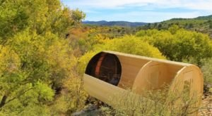 Enjoy Panoramic Views Of The Desert At Arizona's Most Secluded Cliffside Airbnb