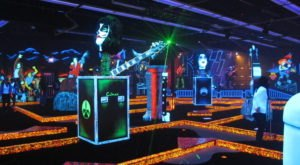 KISS Monster Mini Golf Is A Blacklight Mini Golf Course In Nevada That The Whole Family Will Love