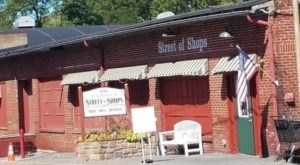 Street Of Shops, One Of Pennsylvania's Most Charming Shopping Spots, Is Located In A Historic Woolen Mill