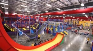 The World's Largest Indoor Obstacle Park Is Right Here In Florida At Planet Obstacle