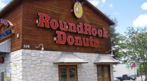 Eat Donuts The Size Of Your Head At Round Rock Donuts In Texas