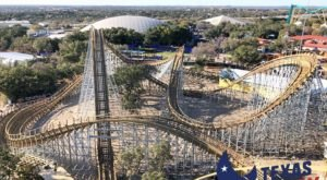 The Tallest Wooden Roller Coaster In Texas Is Opening This March At SeaWorld San Antonio