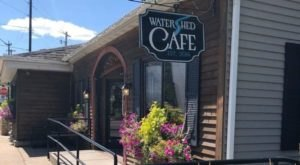 Dine While Overlooking Waterfalls At The Watershed Café In Wisconsin