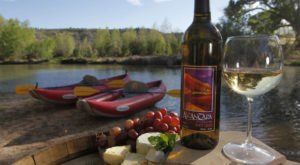 Paddle Your Way Down Arizona's Verde River To Alcantara Vineyards For An Afternoon Of Wine Tasting