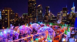 Stay Warm And Cozy This Season At 230 Fifth, A Rooftop Igloo Bar In New York