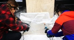 The Ice Carving Extravaganza In Michigan Will Bring Winter Magic To Downtown Ann Arbor