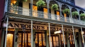 The Oldest Restaurant In New Orleans, Antoine's, Also Has Some Of The Best Lunch Deals