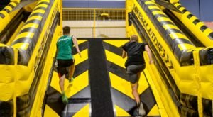 Put Your Ninja Skills To The Test At NinjaBE, An Indoor Obstacle Course In Maryland