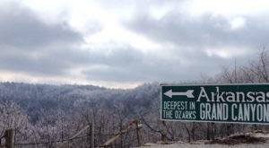 Arkansas' Grand Canyon Looks Even More Spectacular In the Winter