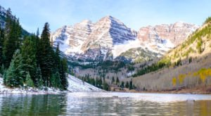 Maroon Bells In Colorado Was Named One Of The 50 Most Beautiful Places In The World
