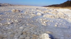 Stop By To See Incredible Ice Balls On Lake Michigan Before Temperatures Rise