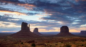 The Sandstone Towers In Arizona's Monument Valley Look Like Something From Another Planet