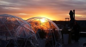 Stay Warm And Cozy This Season At Vantage, A Rooftop Igloo Bar In Missouri