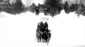 132 Years Ago, Vermont Was Hit With The Worst Blizzard In History