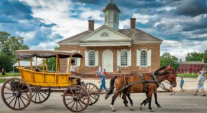 Williamsburg, Virginia Is A Top-Rated Spring Destination For Travelers Who Want To Avoid Crowds