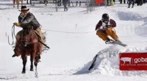 Most Utahns Have Never Heard Of Skijoring, But It's A Thrilling Event