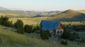 Sleep Inside A Historic Homestead Cabin From The 1800s In Virginia City, Montana