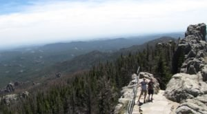 Climb To The Top Of Stone Fire Tower Lookout In South Dakota And You Can See The Entire State