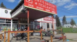 Davis Grocery & Mercantile, Located In Idaho On Scenic Byway 200, Is Older Than The Highway Itself