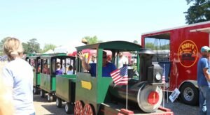 With A Mini Train Ride, Leggo Building Competition, And Timber-Themed Activities, The Louisiana Forest Festival Is Fun For Everyone