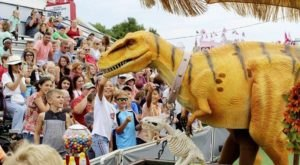 Enjoy A Jurassic Kingdom, Leggo Building Competition, And Timber-Themed Activities At The Louisiana Forest Festival
