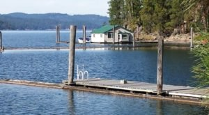 This Summer, Take An Idaho Vacation On A Floating Cabin On Lake Coeur d'Alene