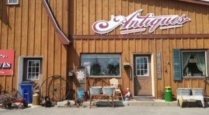 Antiques Lovers Will Love Browsing The Endless Rows At Net's Old Barn Antiques In Minnesota
