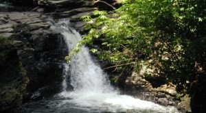 Take An Easy Out-And-Back Trail To Enter Another World At Nay Aug Falls In Pennsylvania