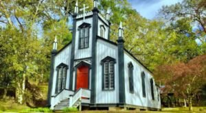 One Of The Mississippi's Most Charming Chapels Can Be Found At Grand Gulf Military State Park