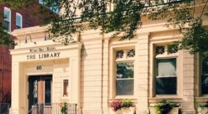 Enjoy Exquisite Meals Inside A Historic 1800s Building At The Library Wine Bar In Connecticut