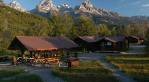 You'll Have A Front Row View Of Wyoming's Teton Range At These Cozy Cabins