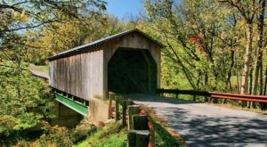 The Oldest Covered Bridge In Kentucky Has Been Around Since 1835