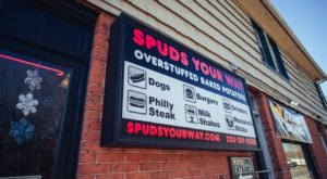 The Giant Baked Potato Menu At Connecticut's Spuds Your Way Is Absolutely Spudtacular