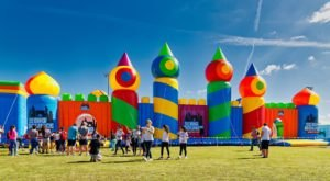 The World's Largest Bounce House Is Heading To New York This Spring