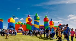 The World's Largest Bounce House Is Heading To Florida This Spring