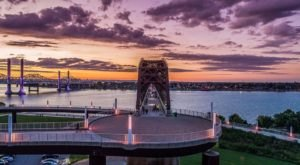 Dine Above The Ohio River At The Unique Event, Dinner On The Bridge, In Kentucky