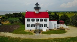 Take A Tour Of New Jersey's Most Endangered Lighthouse While You Still Can