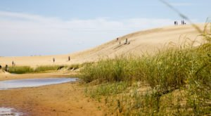 The Living Sand Dunes In North Carolina's Jockey's Ridge State Park Look Like Something From Another Planet
