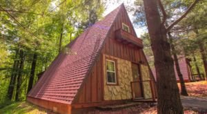 Stay Overnight In The Cabins By The Caves, An Idyllic Spot Surrounded By Nature At Hocking Hills In Ohio