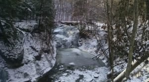 Embark On A Winter Waterfall Hike Near Cleveland For A Dreamy, Scenic Stroll