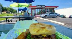 Grab Big Burgers In A Tiny Kansas Spot Named Grandstand Burgers