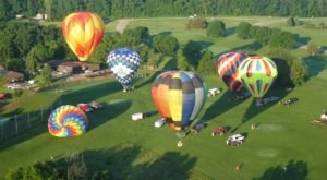 The Sky Will Be Filled With Colorful And Creative Hot Air Balloons At The Great Galena Balloon Race In Illinois