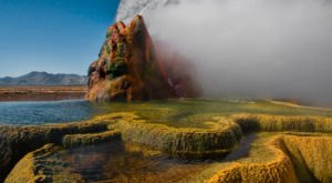 Fly Geyser In Nevada Was Named One Of The Most Stunning Lesser-Known Places In The U.S.