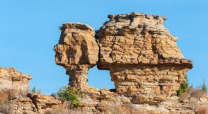 The Rock Formations In Oklahoma's Black Mesa Look Like Something From Another Planet