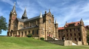 Walk The Grounds Of Saint Meinrad, An Archabbey In Indiana That Is One Of Only Two In America