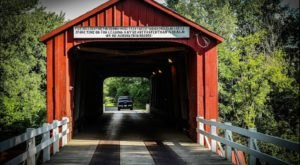 The Oldest Covered Bridge In Illinois Has Been Around Since 1863