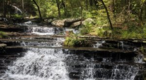 This Arkansas Waterfall And Cascades Trail Is An Underrated Oasis In Heber Springs