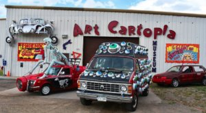 You Can See Dozens Of One-Of-A-Kind Art Cars At Art Cartopia, A Free Museum In Colorado